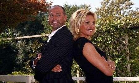 L'ex coppia vip alla presentazione di un programma tv