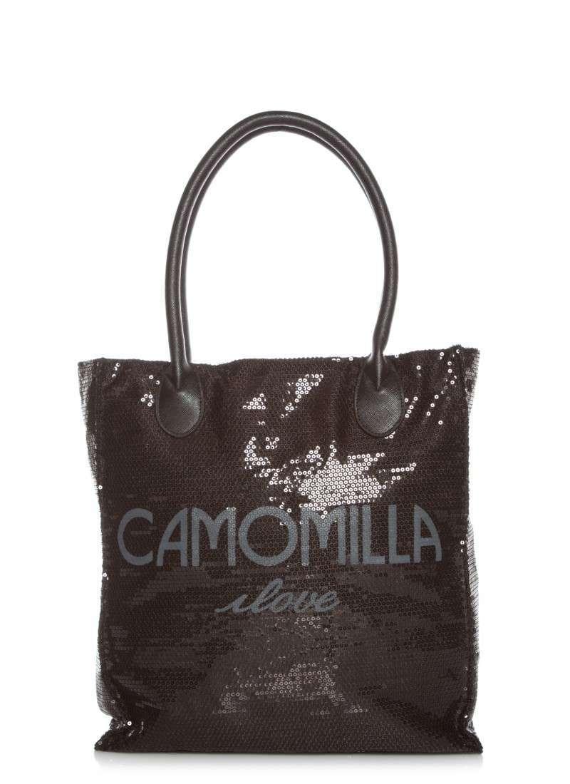 Shopper con paillettes Camomilla