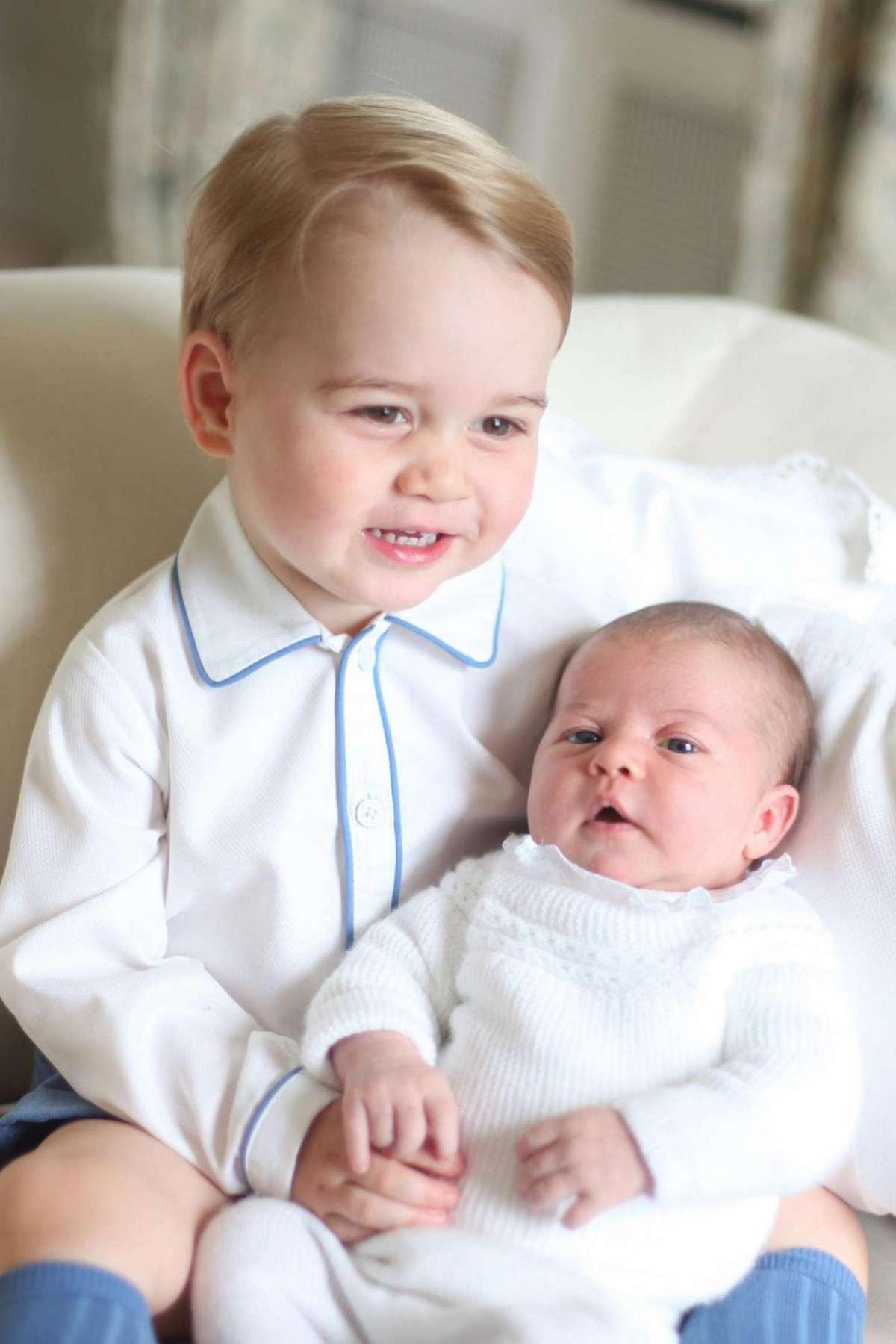 Charlotte e George: i figli di Kate e William