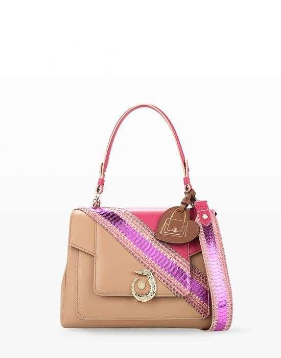 Handbag cipria decorata Trussardi