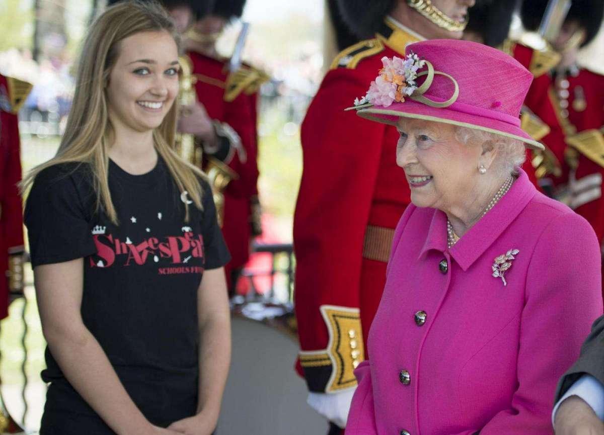 Il sorriso della regina