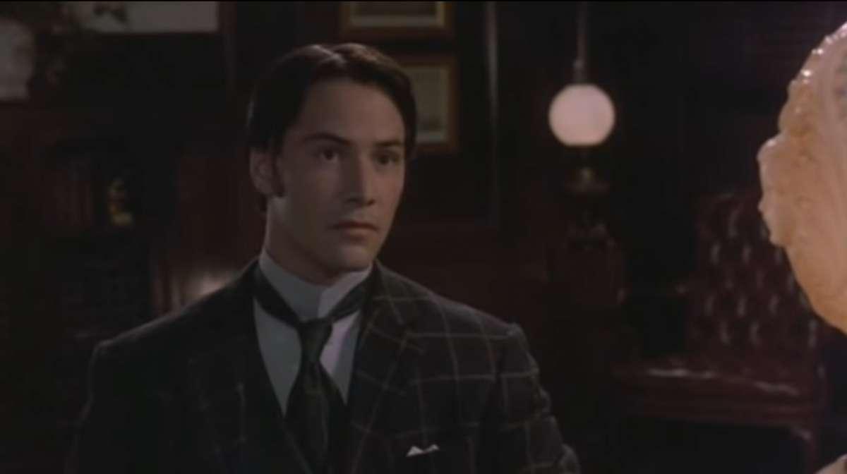 Keanu Reeves in Dracula di Bram Stocker