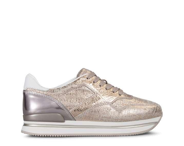 Sneakers cipria glitter Hogan