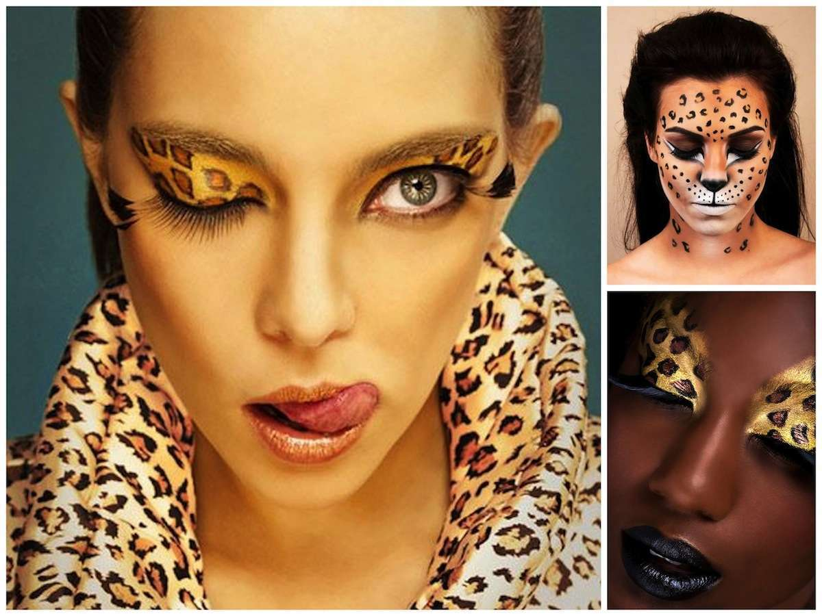 Trucco Carnevale leopardo