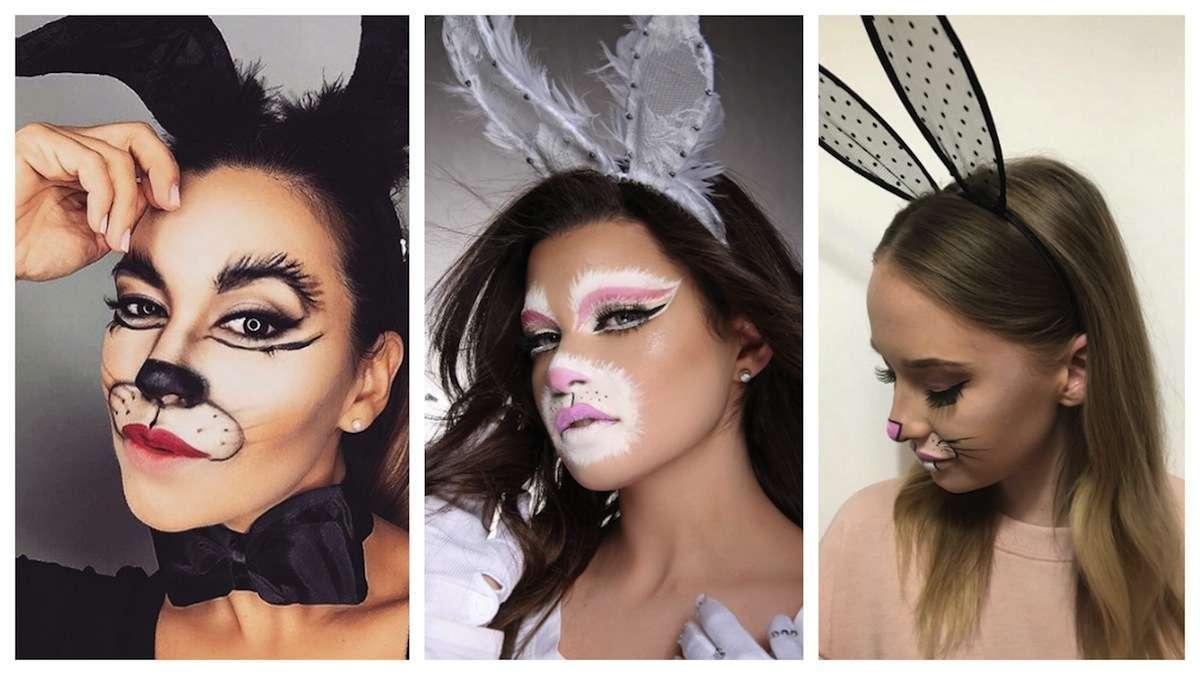 Trucco coniglietta per Carnevale