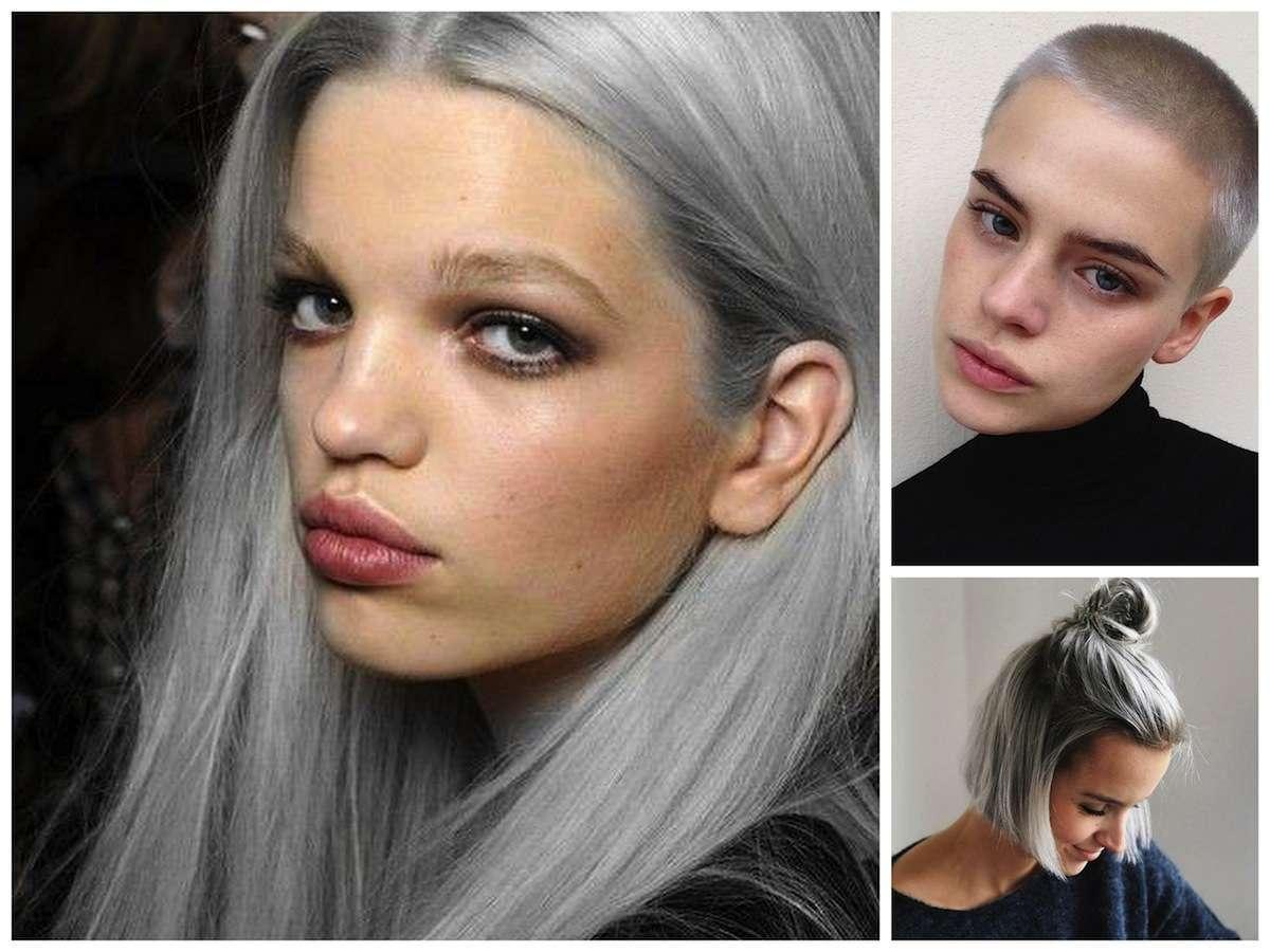 Capelli argento, i look più belli