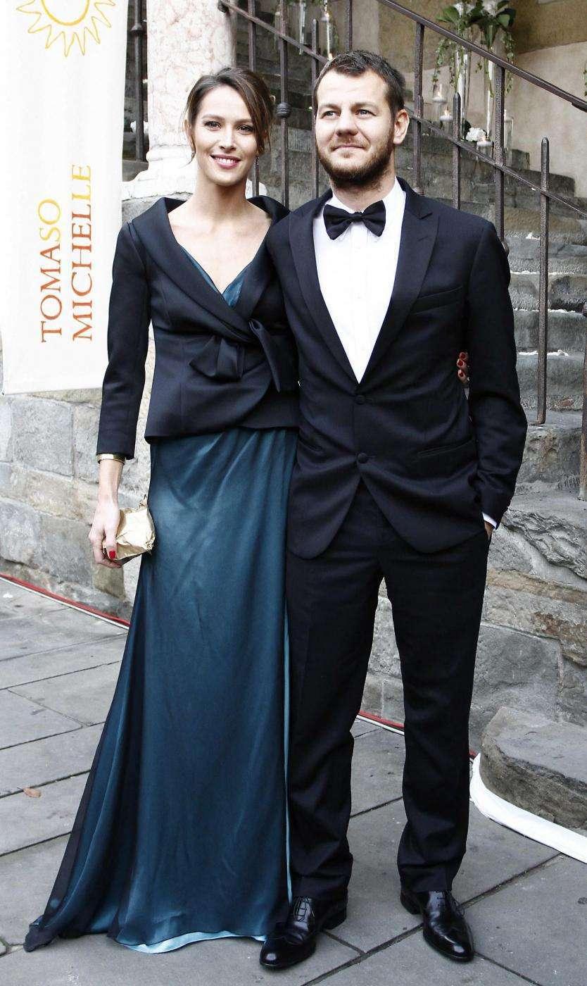 Cattelan e Ludovica Sauer