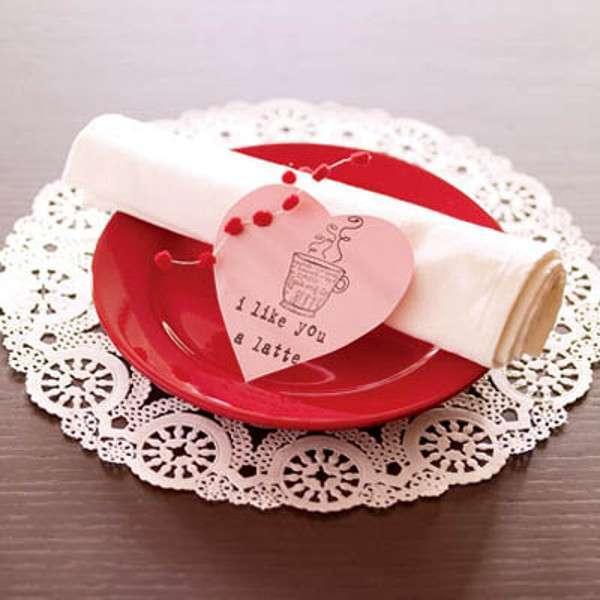 Centrotavola di San Valentino: il messaggio d'amore