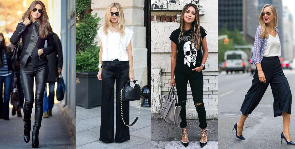 Come abbinare i pantaloni neri