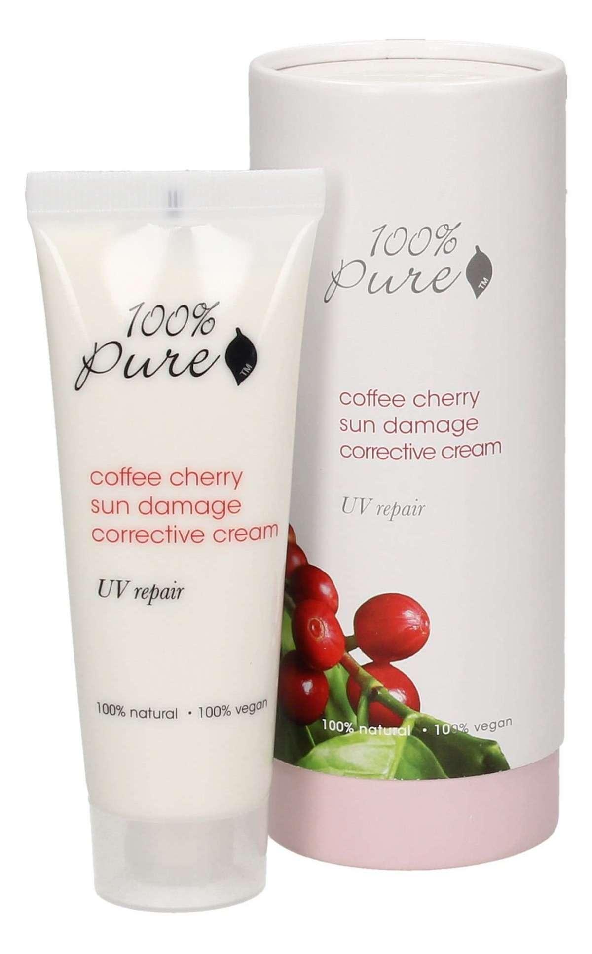 Crema 100% Pure correttiva e antiage