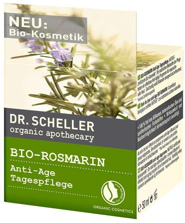 Crema antirughe al rosmarino Dr Scheller