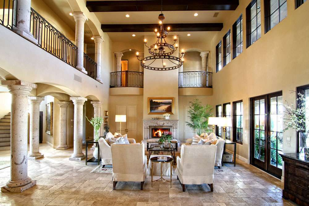 La casa in stile toscano