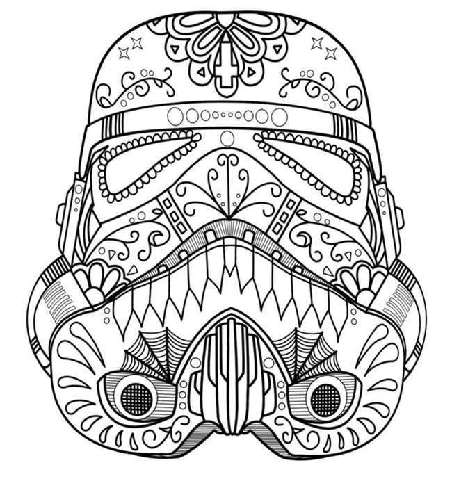 Maschera da stampare