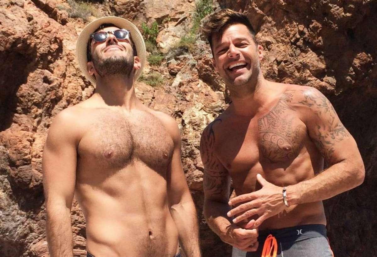 Ricky Martin e Jwan Yosef