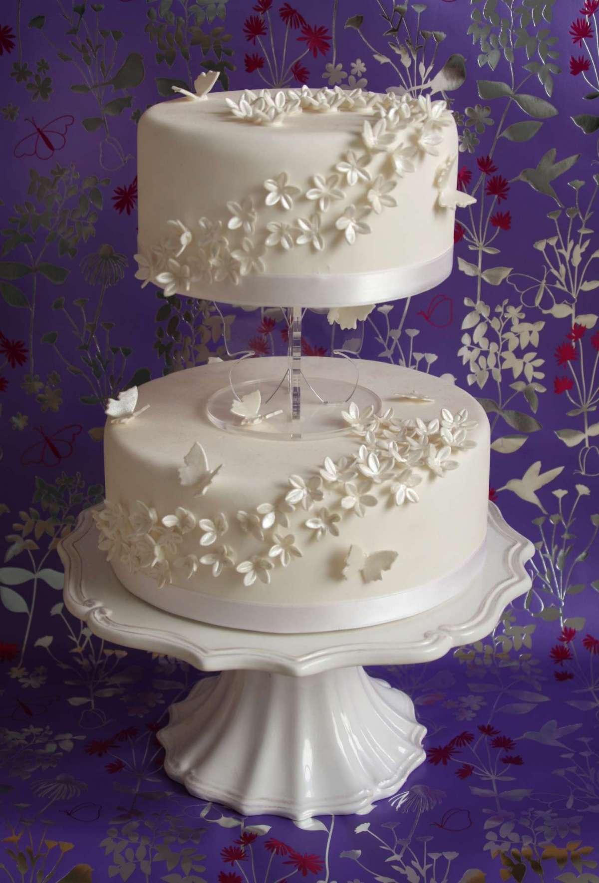 Wedding cake a piani separati