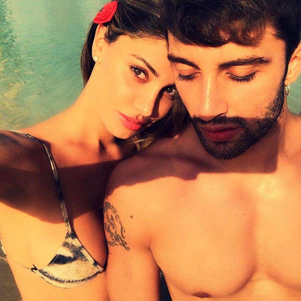 Belen Rodriguez E Andrea Iannone In Qatar Le Foto Della Vacanza