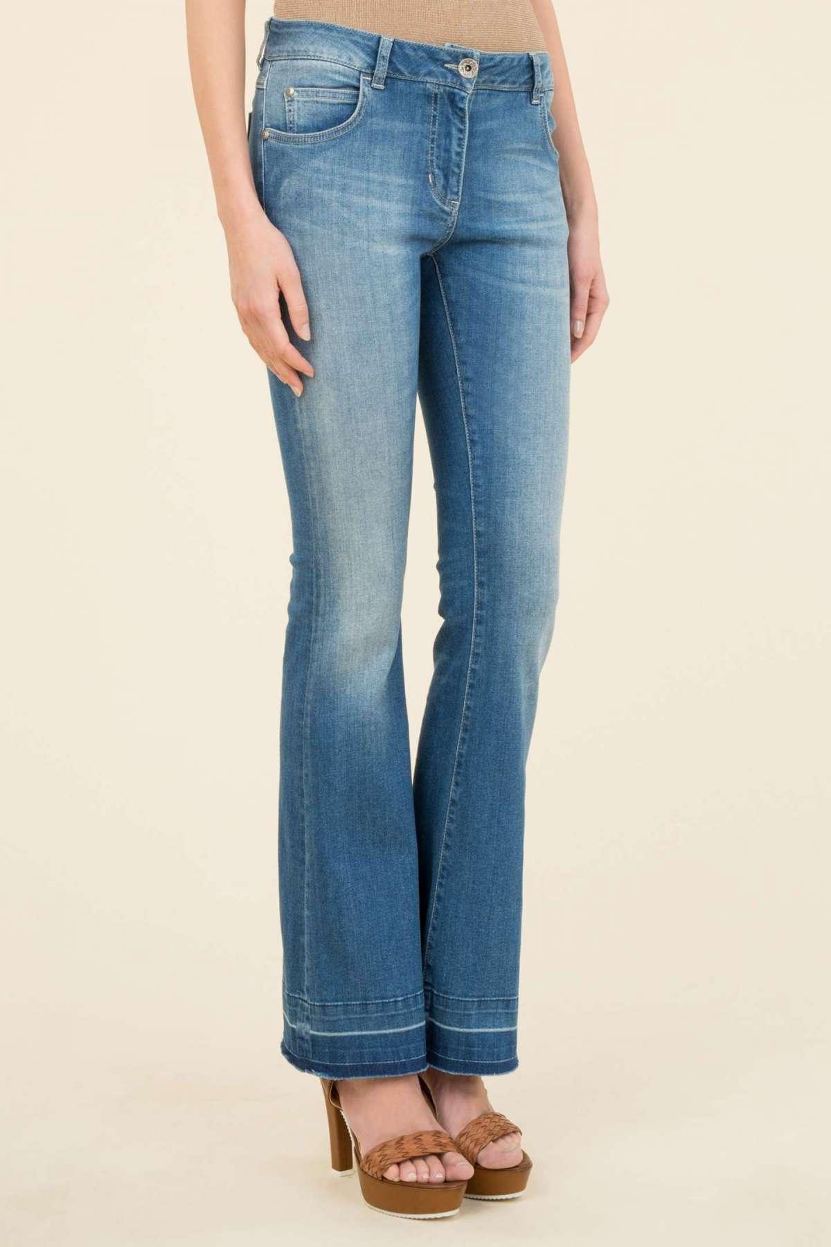 Jeans a zampa Luisa Spagnoli