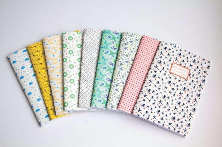 Quaderni con copertine personalizzate