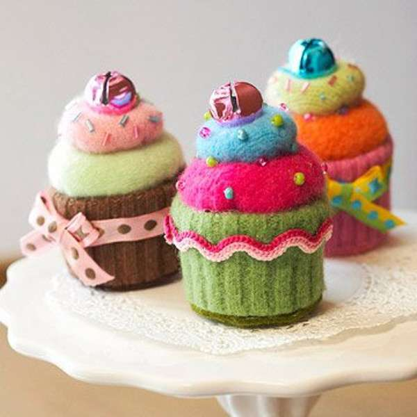 Calzini per creare cupcake