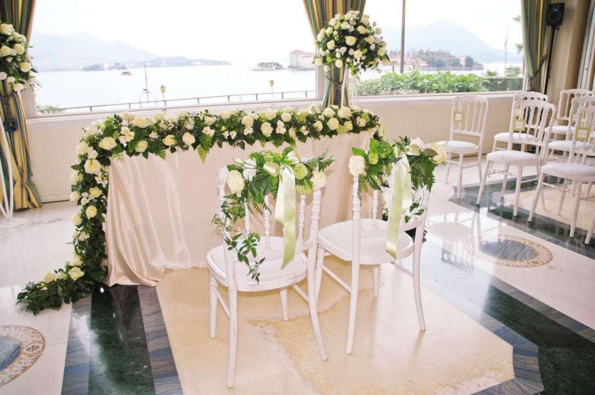 Decorazioni per il matrimonio in municipio
