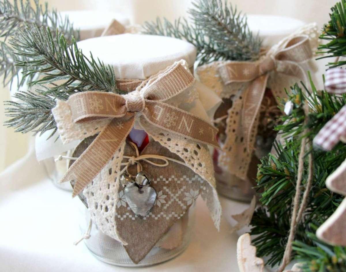 Decorazioni per nozze natalizie