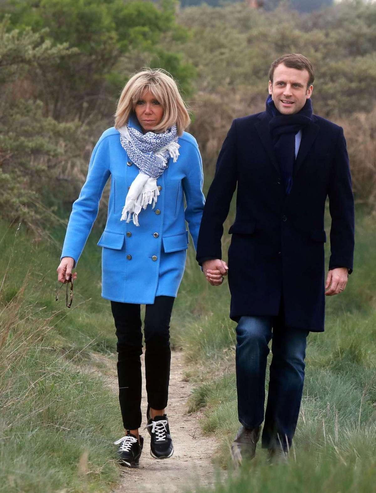 L'affiatamento tra Brigitte e Emmanuel
