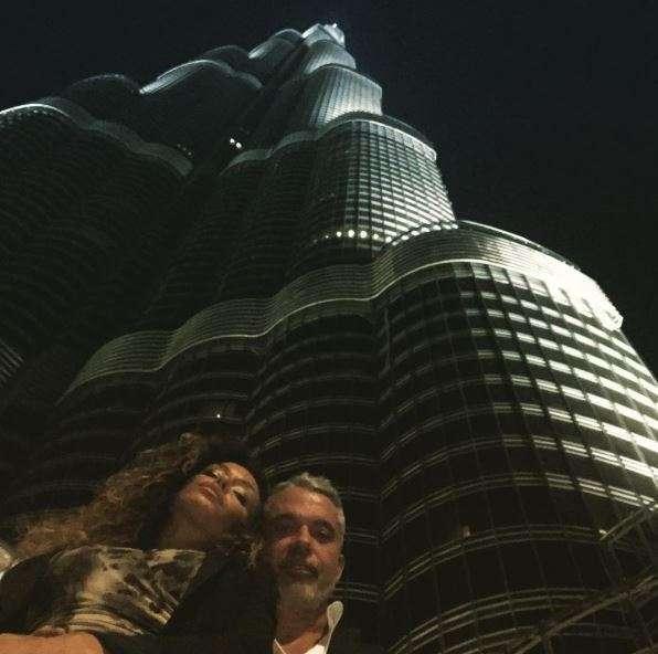 Raffaella e Alessandro a Dubai