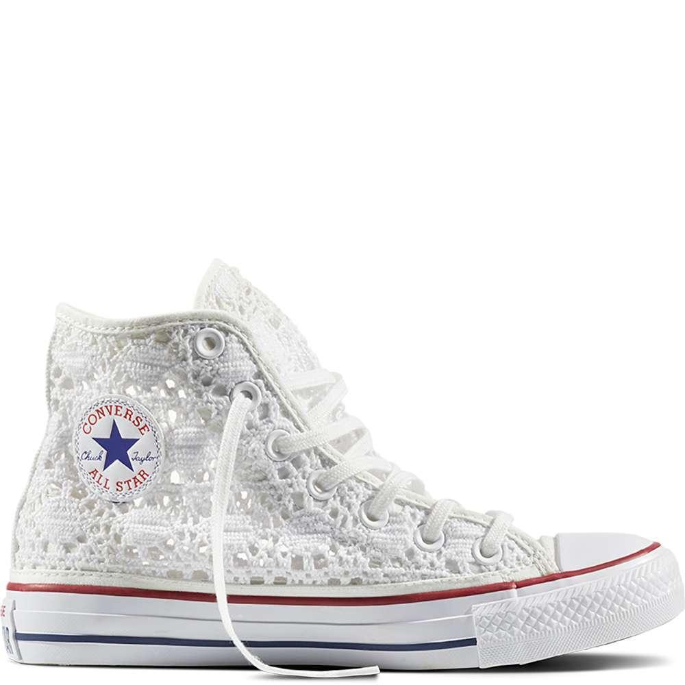 Converse All Star Crochet bianche