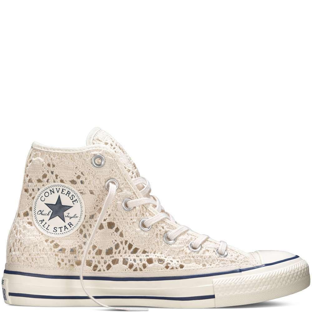 Converse All Star Crochet cipria