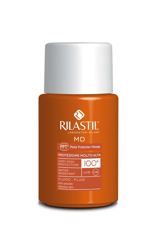 Crema solare viso protezione 100 Rilastil