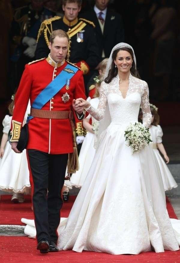 L'abito da sposa Sarah Burton di Kate Middleton