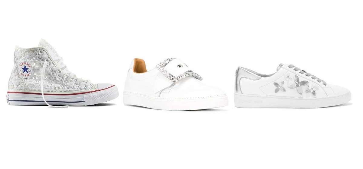 Scarpe Da Ginnastica Per Sposa.Le Piu Belle Sneakers Da Sposa