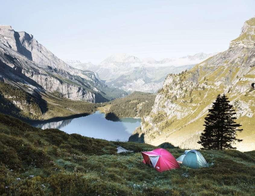 Vacanze in tenda low cost