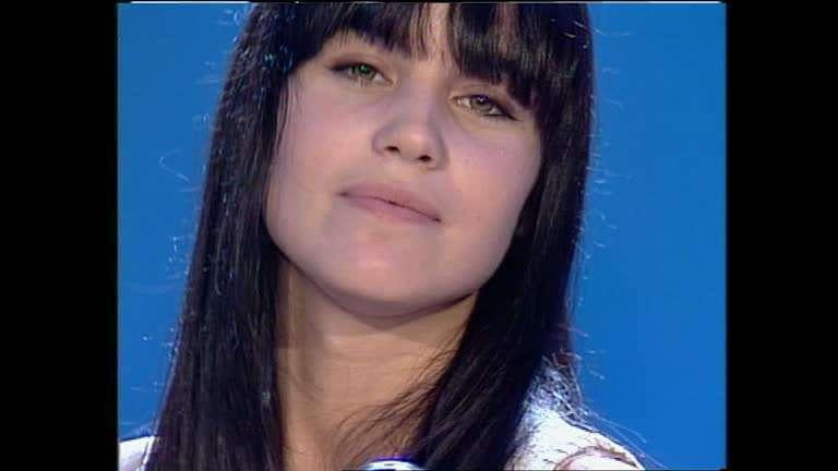 Antonella Mosetti a Non è la Rai