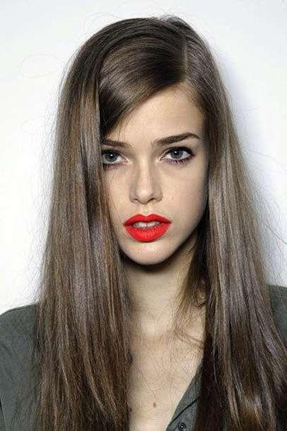 Ash Brown Hair lisci