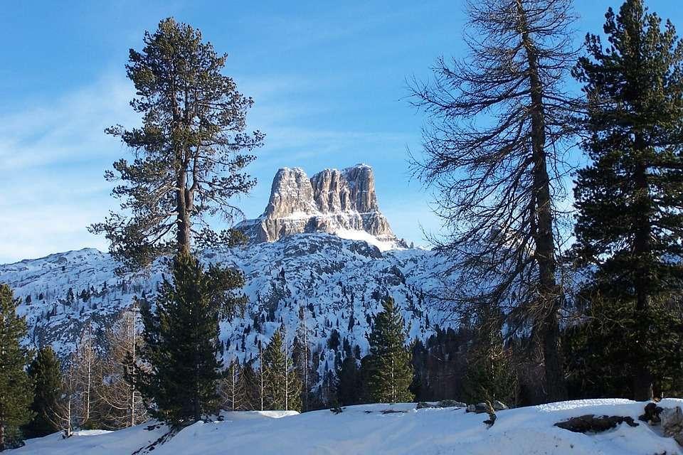 Cortina d'Ampezzo nelle Dolomiti