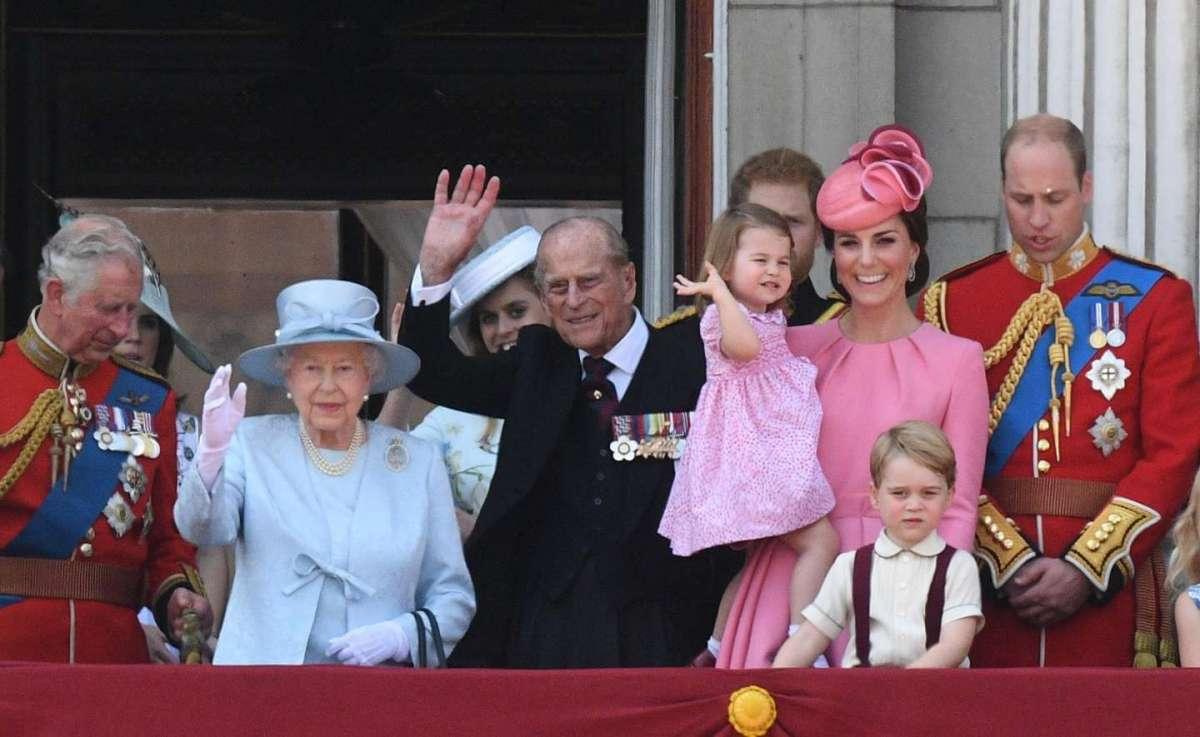 I Reali al compleanno di Elisabetta II
