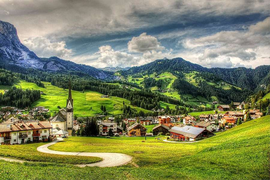 Le montagne delle Dolomiti