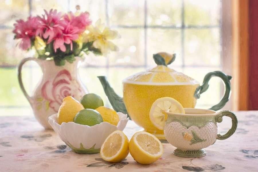 Decorazioni con i limoni
