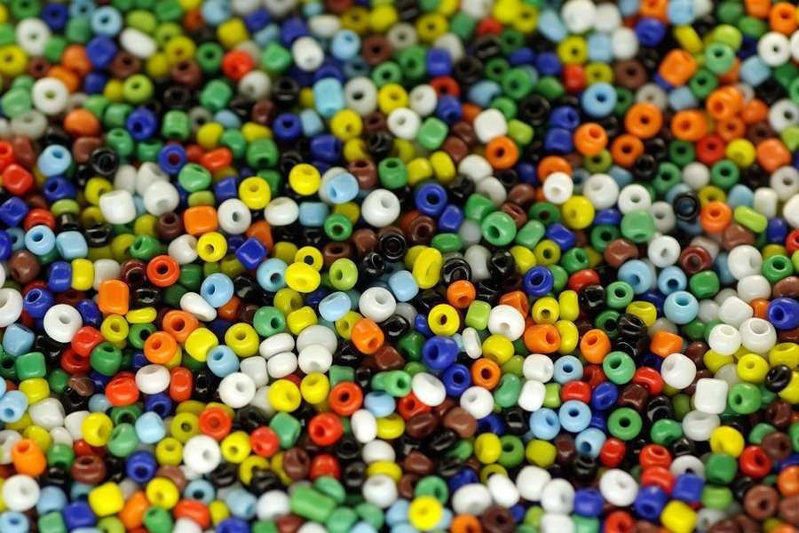 Decorazioni con le perline colorate