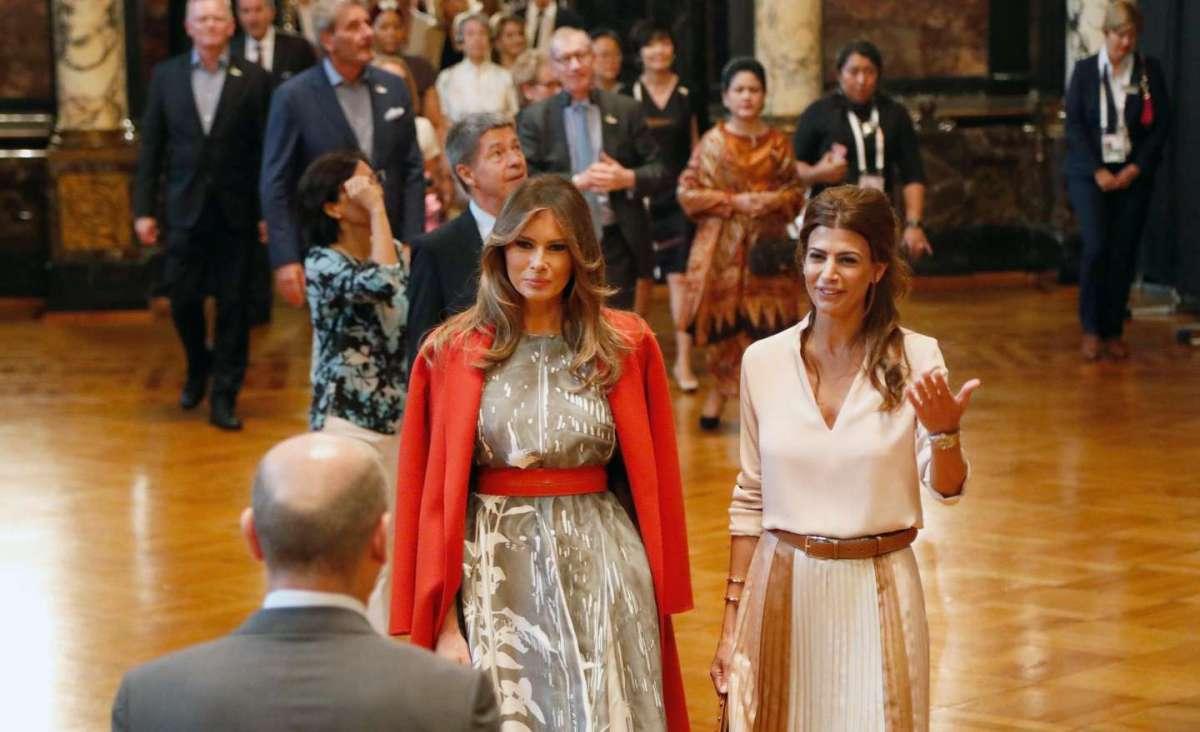 Juliana con Melania Trump
