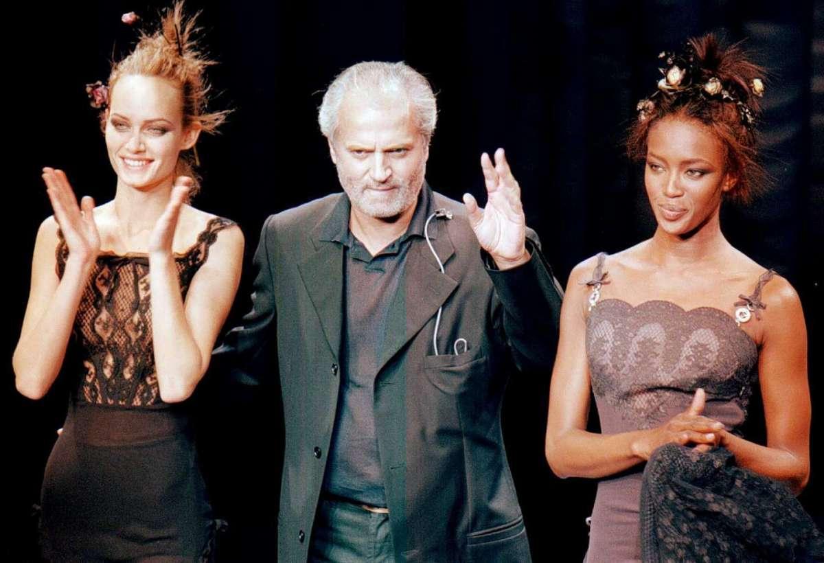 Le supermodelle di Gianni Versace