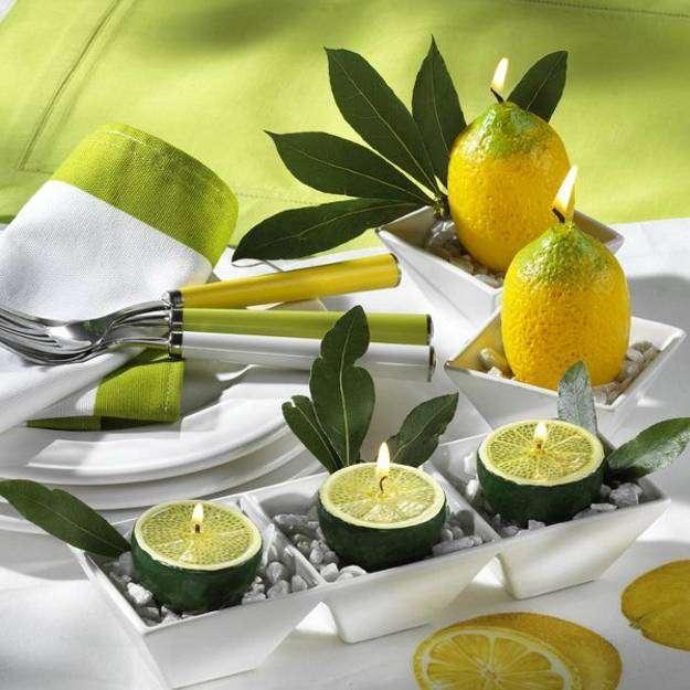 Limoni come candele