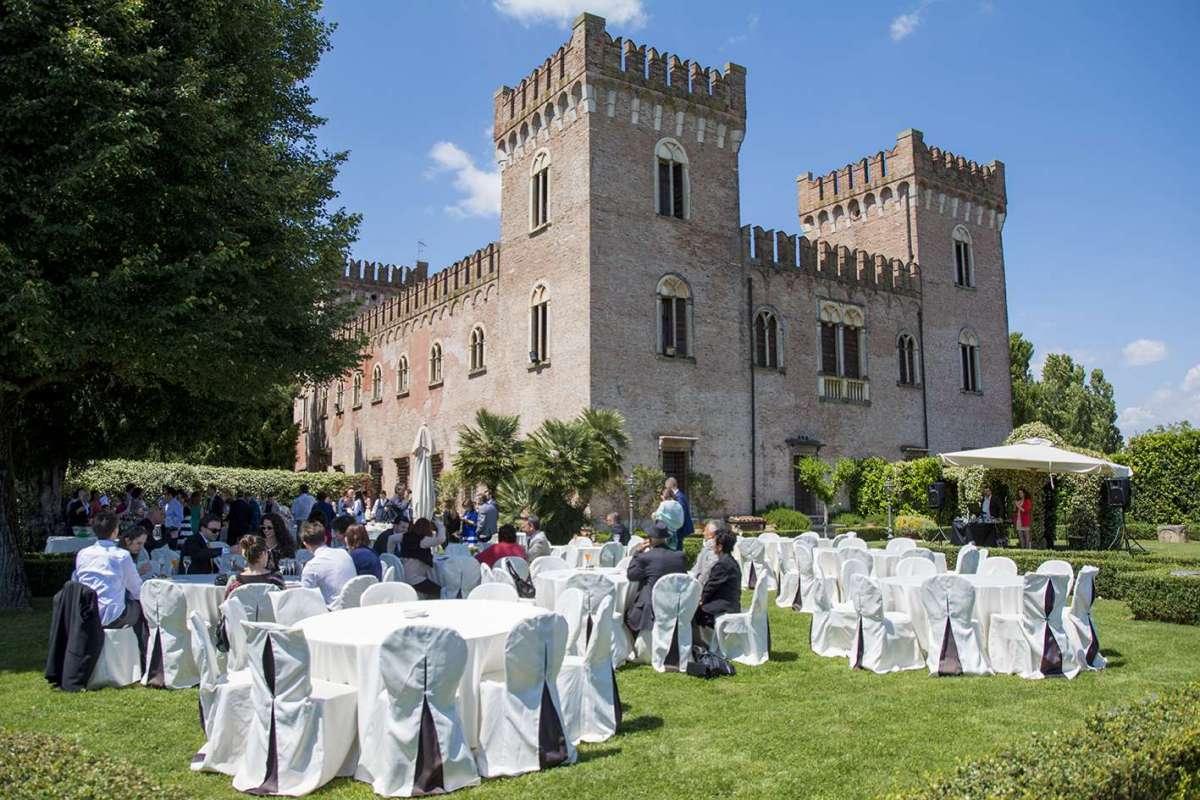 Ricevimento al Castello Bevilacqua di Verona