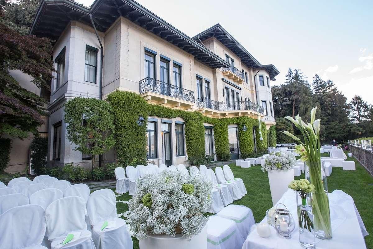 Villa Claudia dei Marchesi dal Pozzo sul Lago Maggiore