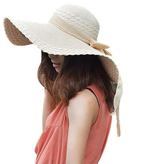 Cappello di paglia grande Tininna