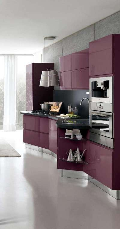 Cucina viola