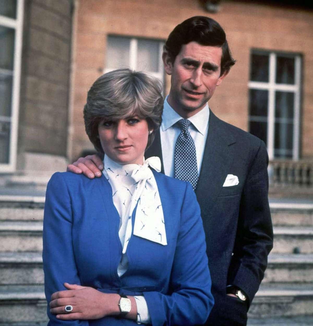 Il fidanzamento con Carlo, principe di Galles