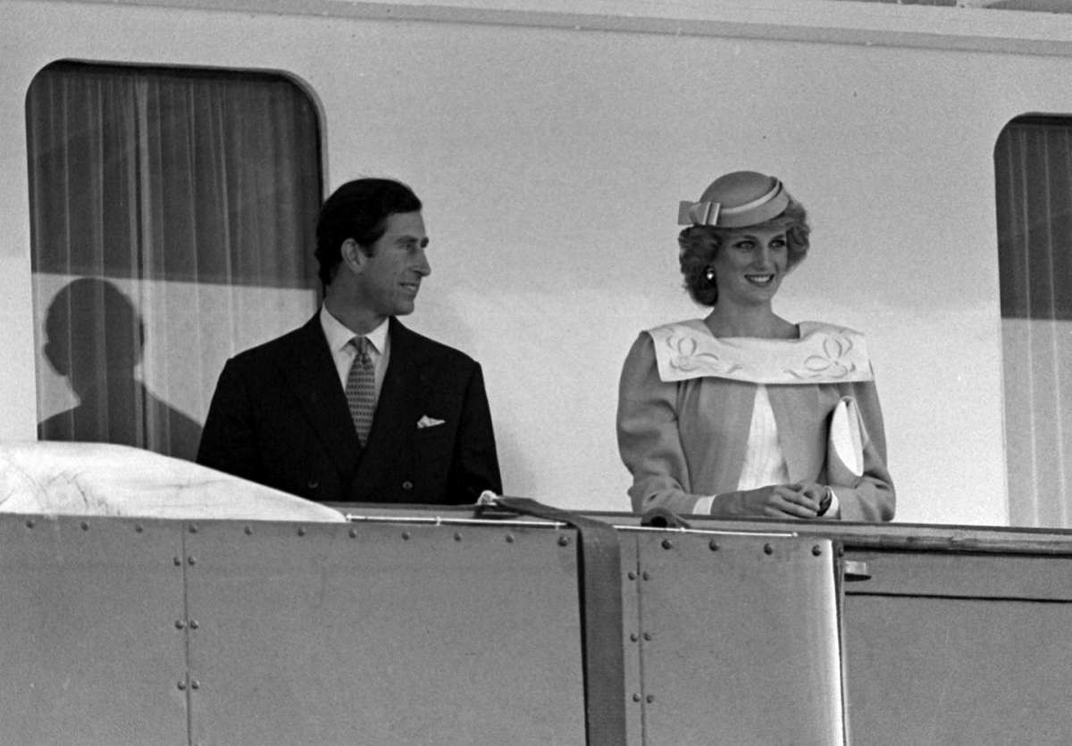 Lady Diana in vacanza in Sardegna