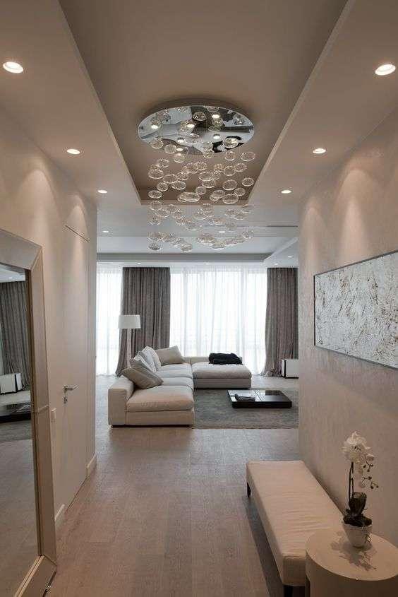 Luci sul soffitto